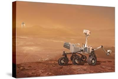 Curiosity Rover on Mars, Artwork