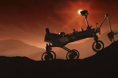 Curiosity the Mars Mountaineer