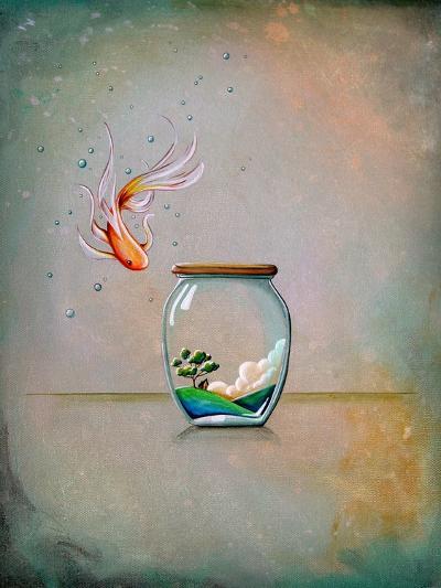 Curiosity-Cindy Thornton-Art Print