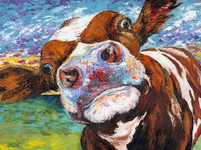 Curious Cow I-Carolee Vitaletti-Art Print