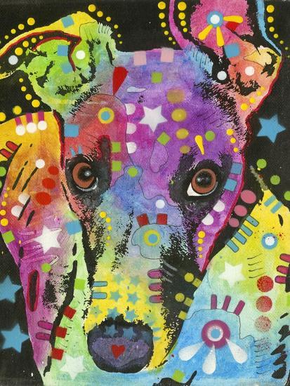 Curious Greyhound-Dean Russo-Giclee Print