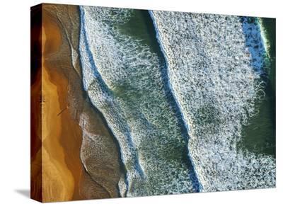 Curl Curl Aerial-Ignacio Palacios-Stretched Canvas Print