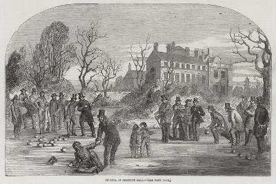 Curling, at Croxteth Hall--Giclee Print