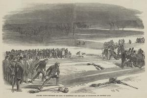 Curling Match Between the Earl of Mansfield and the Earl of Eglington, on Airthrie Loch