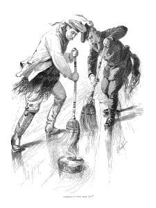 Curling Players, 1885