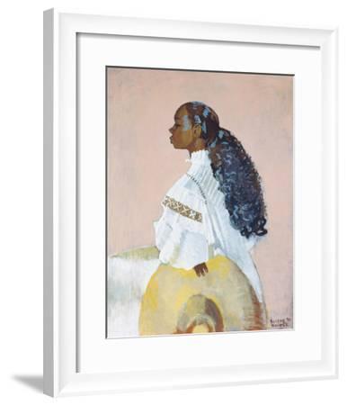 Curls Galore, 1994-Boscoe Holder-Framed Giclee Print