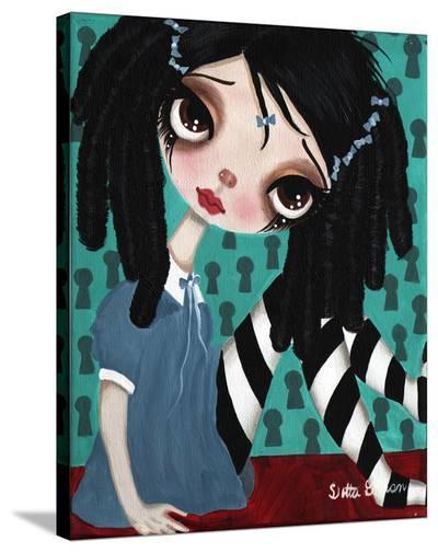 Curls-Dottie Gleason-Stretched Canvas Print
