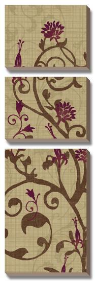 Curly Grass II-Tandi Venter-Canvas Art Set
