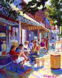 Nuffer's Colorful Cafe by Curney Nuffer