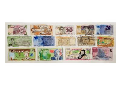 Currencies of the World-John Woolley-Limited Edition