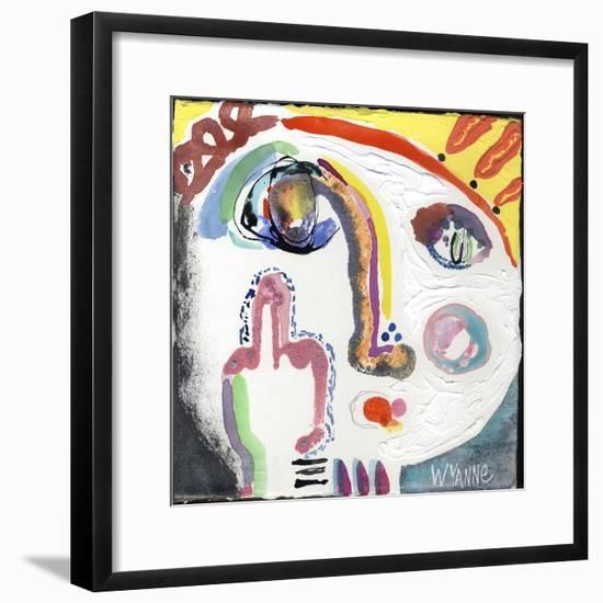 Current Mood-Wyanne-Framed Giclee Print