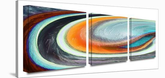 Currents 3-Piece Canvas Set-Dean Uhlinger-Gallery Wrapped Canvas Set