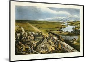 Across the Continent, Westward the Course of Empire Takes Its Way, 1868 by Currier & Ives