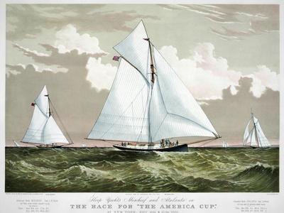 America's Cup, 1881