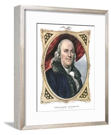 Benjamin Franklin, American Statesman, Printer and Scientist, 19th Century