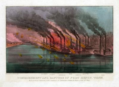 Bombardment and Capture of Fort Henry, Tennessee