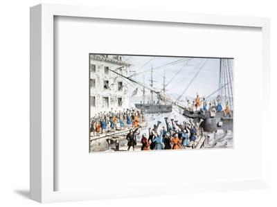Boston Tea Party, 1773
