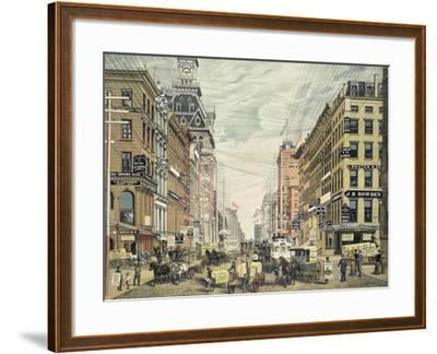 Broadway; from Cortlandt St. and Maidin Lane