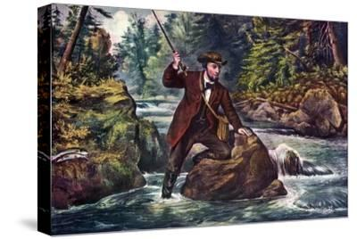 Brook Trout Fishing, 1862