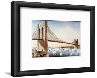 Brooklyn Bridge, NYC, 1881