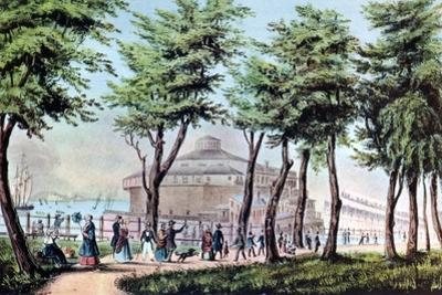 Castle Garden from the Battery, New York, 1848