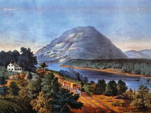 Chattanooga Railroad, 1866 by Currier & Ives