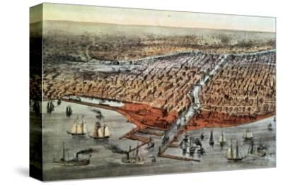 Chicago as it Was, circa 1880