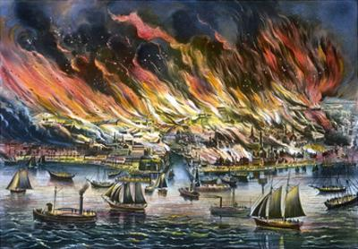 Chicago: Fire, 1871
