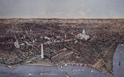 City of Washington (Looking North, 1892)