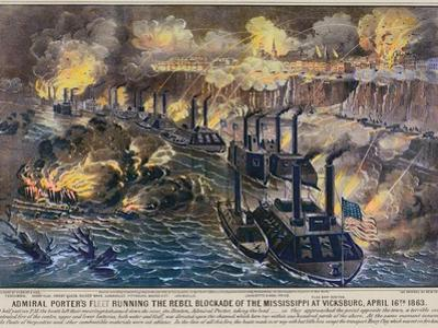 Civil War: Vicksburg, 1863 by Currier & Ives