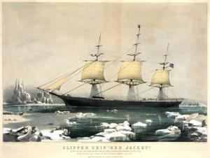 Beautiful Clipper Ships giclee-prints artwork for sale