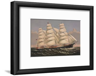 "Clipper Ship ""Three Brothers"", ca. 1875"