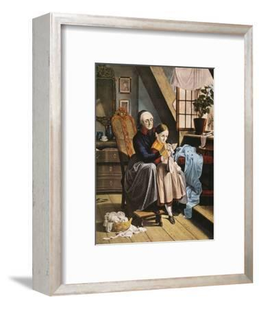 Currier and Ives: Grandmother