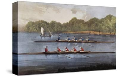 Currier and Ives: Rowing Contest
