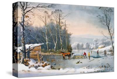 Currier & Ives Winter Scene