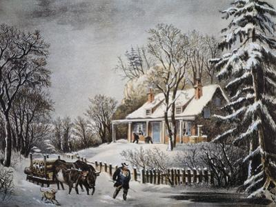 Currier & Ives: Winter Scene
