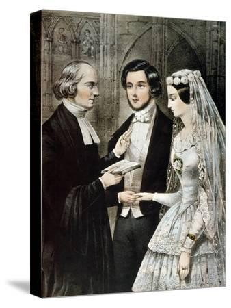 Currier: The Marriage
