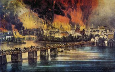 Fall Of Richmond, 1865