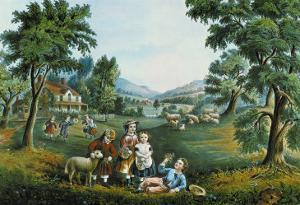 Four Seasons by Currier & Ives