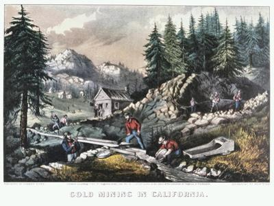 Gold Mining in California, 1849