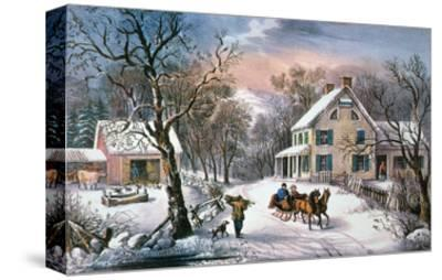 Homestead Winter, 1868