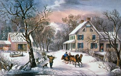 Homestead Winter, 1868