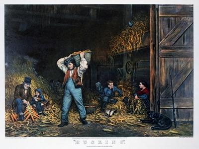 Husking, 1861