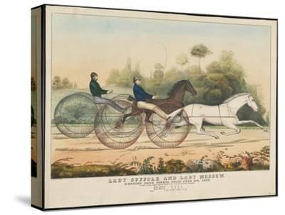 Lady Suffolk' and 'Lady Moscow', Hunting Park Course, Philadelphia, 13th June, 1850