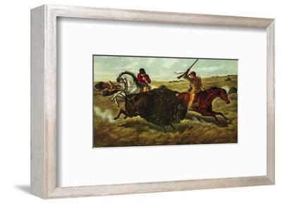 Life on the Prairie, the Buffalo Hunt, 1862