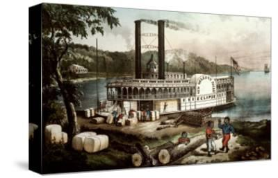 Loading Cotton on the Mississippi, 1870