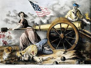 Molly Pitcher (C 1754-1832) by Currier & Ives