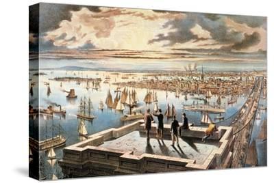 New York Harbor, c1882