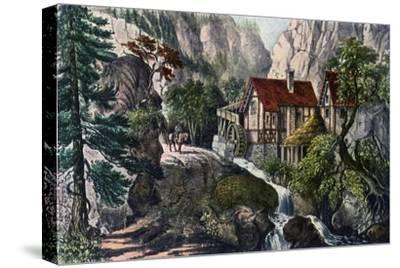 Old Swiss Mill, 1872