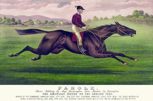 Parole: Brown Gelding, by Imp. Leamington, Dam Maiden by Lexington by Currier & Ives